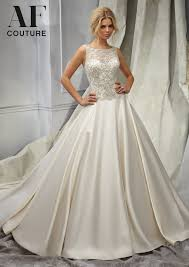 candlelight wedding dresses morilee bridal intricately beaded embroidery on a duchess satin
