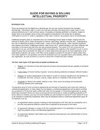 guide for buying u0026 selling intellectual property template