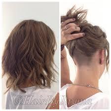 undercut women s hairstyles wavy bob and undercut hairbyjayma hair by jayma pinterest