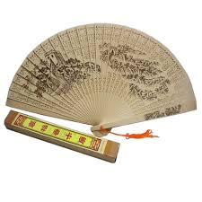 sandalwood fan buy sandalwood fan with carved patterns the