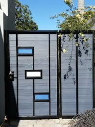 modern woodmetal fence designs thesouvlakihouse com