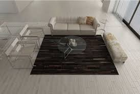 Are Cowhide Rugs Durable Dark Chocolate Brown Patchwork Cowhide Rug Stripes Shine Rugs