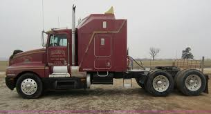 kenworth truck and trailer 1989 kenworth t600 semi truck item a5642 sold february