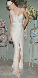 one shoulder wedding dresses 2011 my silk satin wedding dress in oyster colour
