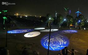 Outdoor Lighting Effects Of 30w Led Gobo Projector Outdoor Event Effects Lighting Custom