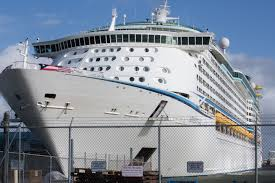 a royal caribbean cruise ship delivers survivors from puerto rico