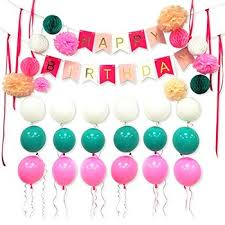 Eightnight Paper Craft Sets For Diy Happy Birthday Decorations