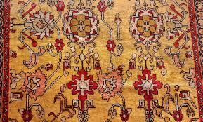 Silk Turkish Rugs Fine Gold Background Antique Silk Turkish Rug 1963 Nazmiyal