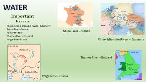 Seine River World Map by Physical Geography Of Europe Ppt Download