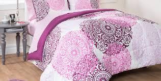 Pink Rose Duvet Cover Set Bedding Set Bohemian Bedding Vintage Boho Roses Duvet Bedding