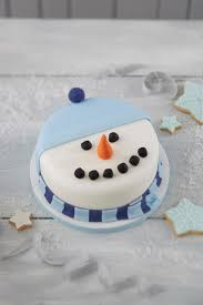 how to make a snowman christmas cake cake baking snowman and