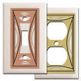 modern light switch covers milano modern switch plates outlet covers made in usa in 100 sizes