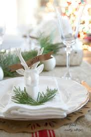 Table Setting Cards - free christmas place cards christmas lights decoration