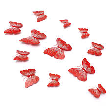 pcs butterfly art design decals wall stickers home decor room ddf baebfebg