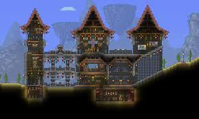 my first terraria castle imgur