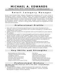 Director Of Ecommerce Resume Category Manager In Chicago Il Resume Michael Edwards Retail Sales