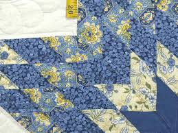Blue And Yellow Home Decor by Blue And Yellow Floral Quilt Fabric Blue And Yellow Quilt Pictures