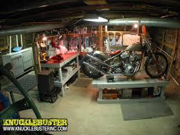 building a workshop garage knucklebuster blog archive small motorcycle workshop gallery