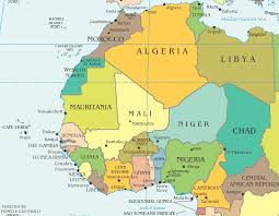 africa map islands west africa and morocco route maps