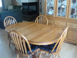 Table Pads For Dining Room Tables Dining Room Gorgeous Dining Room Idea With Oval Maple Wood Dining
