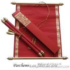 faire part mariage parchemin parchemin said en fibre de soie pour mariage ou naissance
