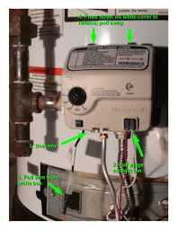 resetting the honeywell gas valve on a water heater