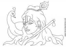 baby krishna face drawing easy and beautiful pencil drawings