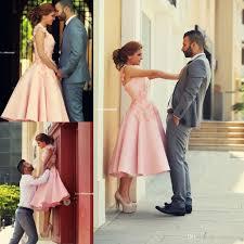 tea length evening dresses 2017 pink engagement dresses vintage a