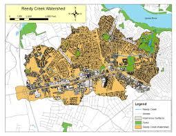 Map Of Richmond Va Watershed Map Reedy Creek Coalition