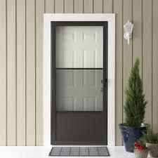 exterior emco storm door for inspiring front door design ideas