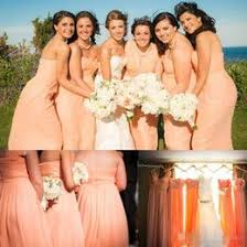 37 best bridesmaids peach gradient images on pinterest