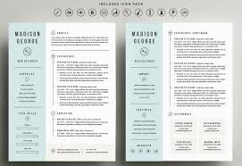 1 page resume template the best cv resume templates 50 examples design shack