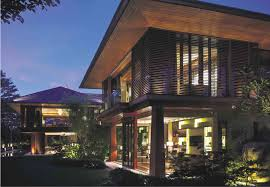 House Design Asian Modern by Philippine Vernacular Architecture For This Open Filipino Asian