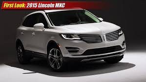 2015 luxury trucks first look 2015 lincoln mkc luxury crossover suv youtube