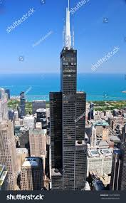 chicago may 18 aerial view willis stock photo 134778059 shutterstock