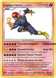 Falcon Punch Meme - captain falcon card by masterluigi452 on deviantart