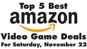 best amazon black friday deals top 5 best black friday video games deals on amazon today