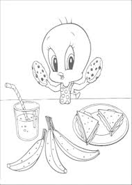 kidscolouringpages orgprint u0026 download tweety bird pictures