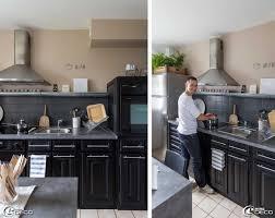 cuisine bois peint charmant cuisine repeinte en gris avec cuisine bois repeinte