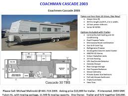 Coachman Awning Coachmen Cascade 30tbs Rvs For Sale