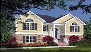 bi level house plans with attached garage bi level house plans split entry raised home designs by thd