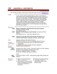 9 best images of downloading free resume sample templates resume