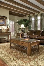 place a rustic sofa table in your house home furniture and decor