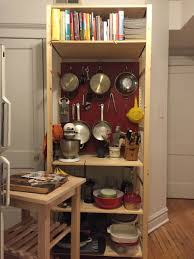 making my kitchen pop with a pegboard ivar unit ikea hackers