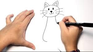 imágenes de gatos fáciles para dibujar cómo dibujar un gato paso a paso dibujos fáciles de animales para