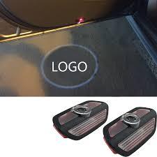 logo mercedes benz 3d car logo custom courtesy light specified car door welcome ground