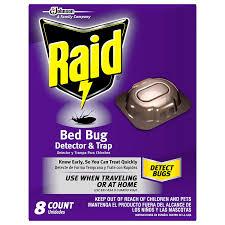 amazon com raid bed bug detector and trap 8 0 count health