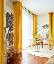 Yellow Curtain Mustard Yellow Curtains Antarti