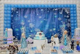 Decorate For Christmas Party Frozen Christmas Decorations Frozen Party Decor Ideas Kids