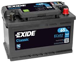 battery car ec652 096re exide classic car battery